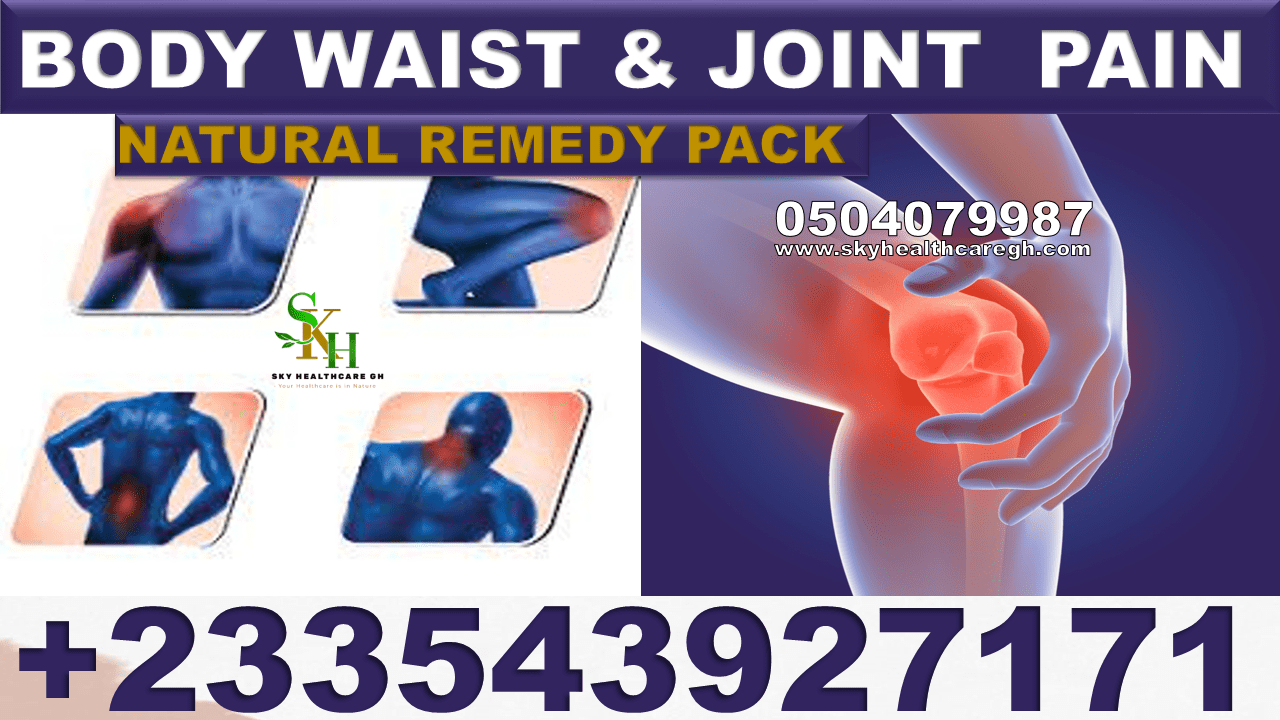 Natural Remedy for Waist Pains