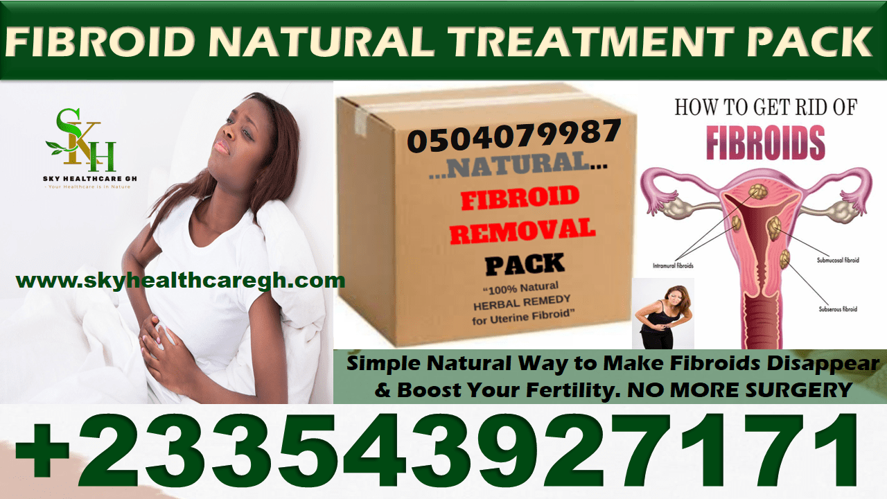 Natural Fibroid Treatment Pack