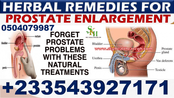 Natural Remedy for Enlarged Prostate